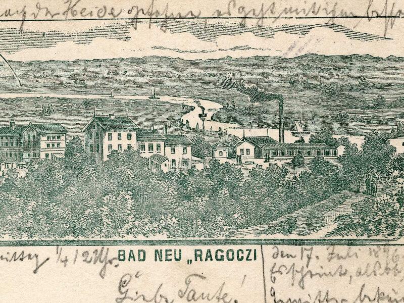 Bad Neuragoczy Kurbetrieb 1898